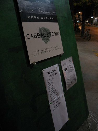 Nuit Blanche Cabbagetown: An Appropriate Work to Read