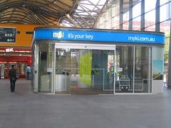 Myki information booth