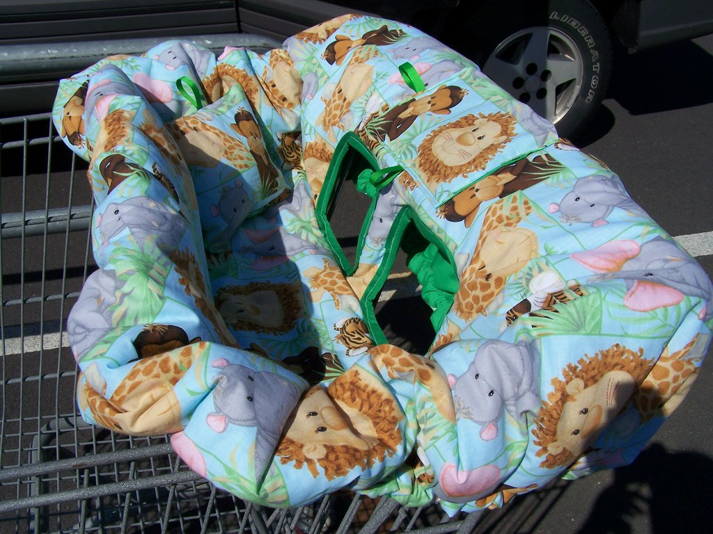 Jungle Babies Cart Cover