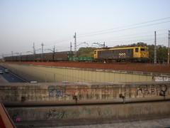Mollet_14-10-2008_03 (JT Curses) Tags: train tren rail bahn locomotora ferrocarril 208 renfe 269 adif ffcc trenbidea mollet mercancías molletdelvallés trenmakina