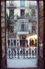 Barcelona, calle Muntaner