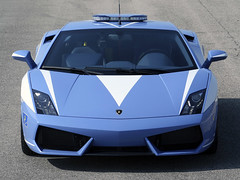 Polizia Lamborghini Gallardo LP560 cops car