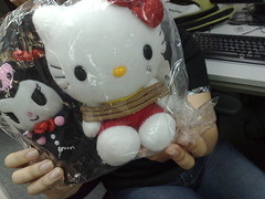 Kuromi and Hello Kitty