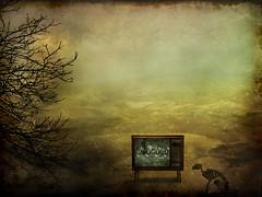 TV WASTELAND (SkyShaper) Tags: skyshaper artlibre 300channelsandnothingon artistictreasurechest