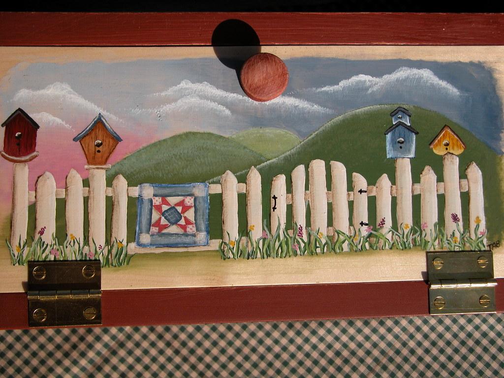 Painted Snowman wooden crafts upsidedown wodden handpainted craft decor