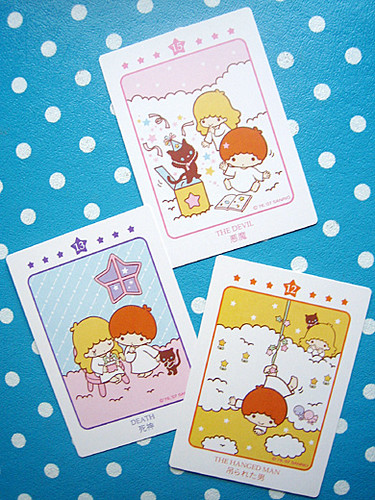 little twin stars tarot cards & book