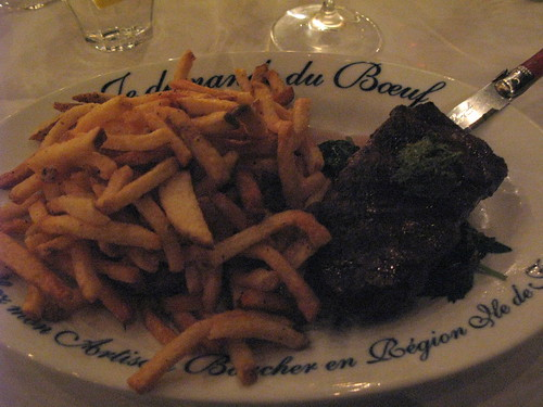 Steak Frites at Jaynes