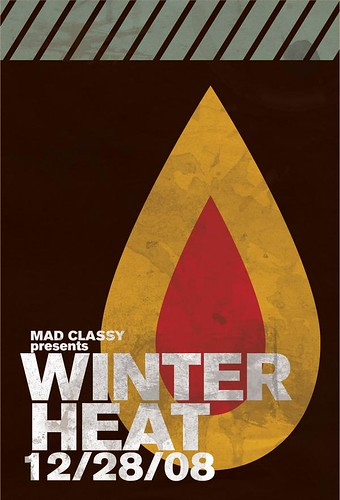 Winter Heat Flyer (Front) by aaronzimmermann.