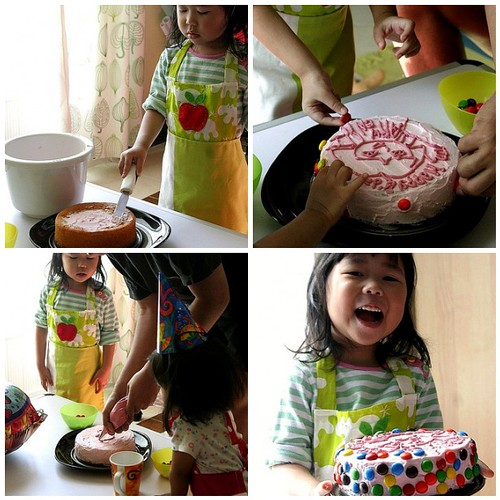 Arwen's Birthday : Her Cake Decorating Project
