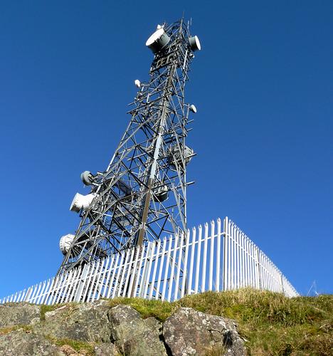 Mast above Cornalees