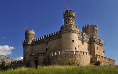castillo de manzanares wallpaper 6-9 pano (R.Duran) Tags: madrid wallpaper espaa castle castles spain nikon espanha europa europe background free wa gratis espagne fondo castillo escritorio palaces cottages manzanareselreal statelyhomes d300 manorhouses tamron1118mm