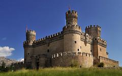 [フリー画像] [人工風景] [建造物/建築物] [城/宮殿] [マンサナーレス・エル・レアル城] [スペイン風景]      [フリー素材]