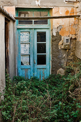 Yet another blue door