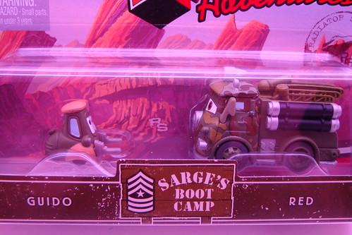 Mini adventures fabulous doc hudson lightning mcqueen mini adventures