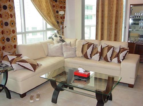 Sofa Set + Center & Side Tables