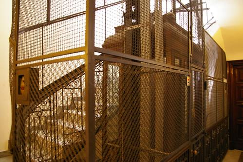 在羅馬住的地方的電梯