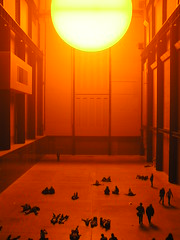Olafur Eliasson: The Weather Project (Istvan) Tags: sun london contemporaryart indoor tatemodern olafureliasson wysiwyg olafur theweatherproject gamewinner 5elements top20yellow thechallengefactory