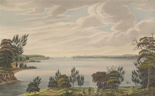 Botany Bay, New South Wales 1825 (Joseph Lycett)
