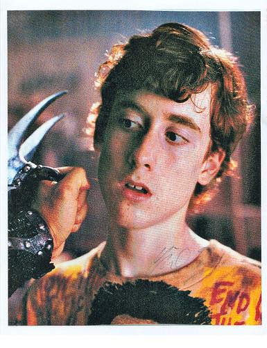 Teenage Mutant Ninja Turtles the Movie .. Bootleg Movie Photo  'Danny Pennington' ..signed by actor, & infamous filmogrophile Mike Turney (( 2008 ))