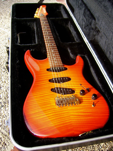 Hamer USA Vintage S body