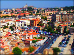 Cagliari minature (mauriziopani) Tags: sardegna houses cars colors sunshine miniature cagliari tiltshift flickrshop
