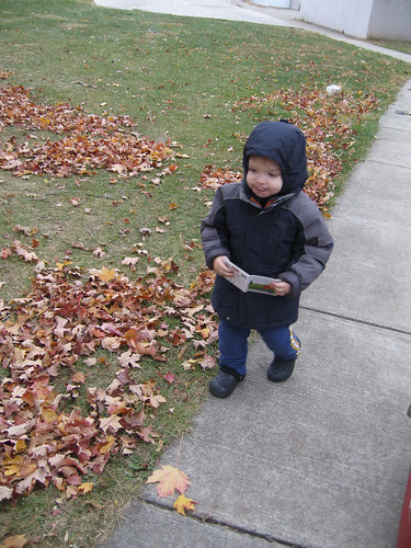 Dylan all bundled up