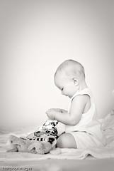 ...6 months... (Geoff...) Tags: girl reading nikon infant australia canberra d80 lushpupimages lushpup