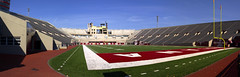 IU Memorial Stadium (W9NED) Tags: panorama usa america midwest stadium indiana northamerica iu stitched in 1445mm stitchedpanorama bloominigton