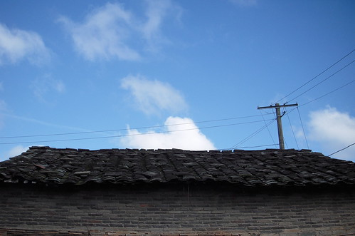Roofs and blue sky - 13