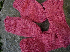 Mittens for Chloe and Wendy