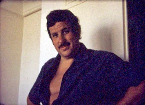 Joaquín en una foto sacada de película super8