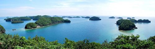 Hundred Islands Panorama