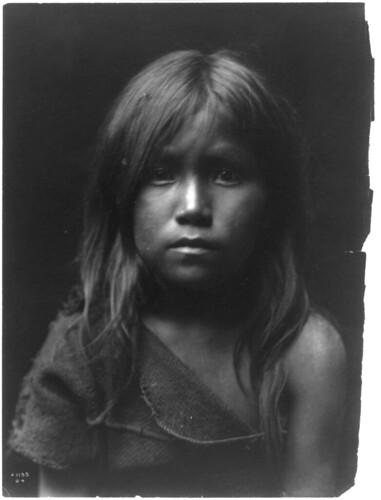 young Hopi girl