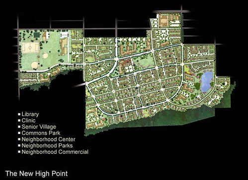 High Point's site plan (by Mithun, courtesy Tom Phillips, SHA)