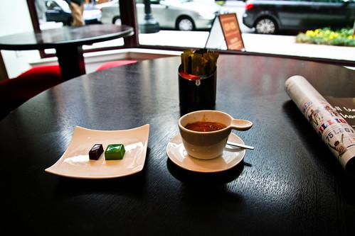 espresso and chocolate