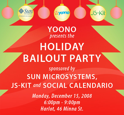 Holiday Party Flyer!