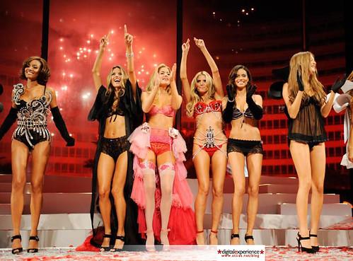 Victorias Secret modelos pasarela