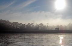 Starting the day (10b travelling) Tags: brazil mist peru southamerica ctb reflections river dawn amazon rainforest colombia jungle ten americas carsten sudamerica brink earthwatch 10b yavari cmtb tenbrink