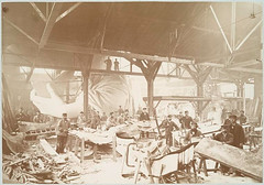 [Men in a workshop hammering sheets of copper for the constr... (New York Public Library) Tags: ny newyork paris france statue hand arm newyorkpubliclibrary statueofliberty workshops metalworking xmlns:dc=httppurlorgdcelements11 dc:identifier=httpdigitalgallerynyplorgnypldigitalid1161036 dc:coverage=1883 albertfernique