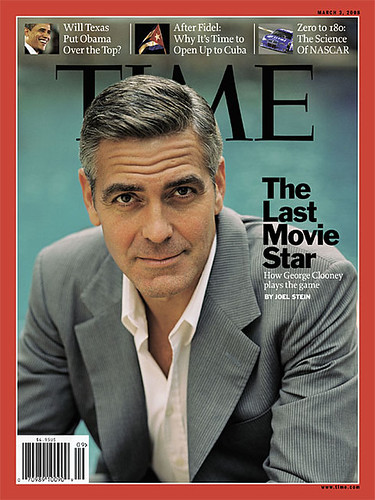 GEORGE CLOONEY  'TIME' MAGAZINE
