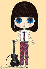 New Blythe doll 'Punkaholic People'