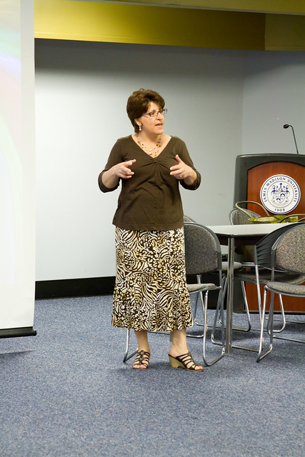 Speaker - Lori Britt, The Colors of Leadership, Communication Studies by university.unions
