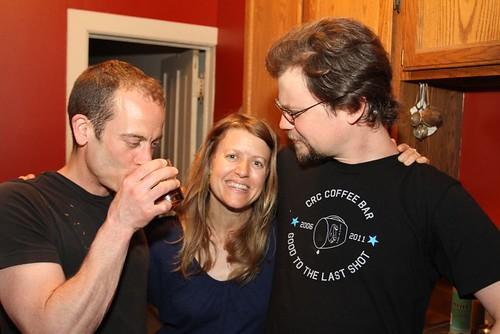 John, Kristin, Matt