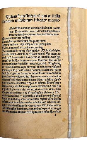 Incipit of Stella clericorum