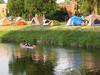 Urban Campsite (Factotumm) Tags: montreal mtlunguessed gwim festivalfolksurlecanal