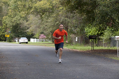 Getting in Shape (Larry Flynn) Tags: man relax outdoors athletic healthy exercise father lifestyle husband son shorts runner wholesome fit unwind aerobic energetic decompress