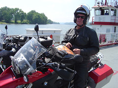 Neil Peart in West Virginia (*cHARLIe 2112(^:*) Tags: neil westvirginia rush bmw motorcycle touring neilpeart peart betweenshows