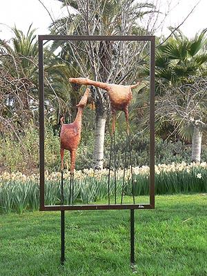 sculptures encadrées.jpg