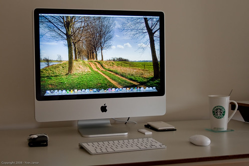 My New iMac Photography Workspace!