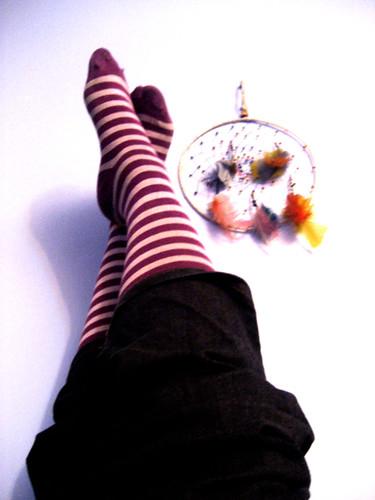 Mis calcetas y mi atrapasueños
